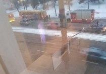 В Твери задымился автобус с пассажирами