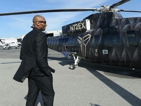 На месте крушения вертолета Брайанта нашли останки только трех тел