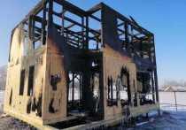 Пожар в Марий Эл уничтожил строящийся дом