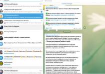 Обзор самых популярных телеграм-каналов Воронежа и Черноземья