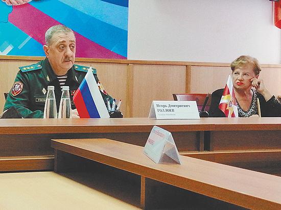 Командующий Центральным округом войск национальной гвардии рассказал журналистам о задачах