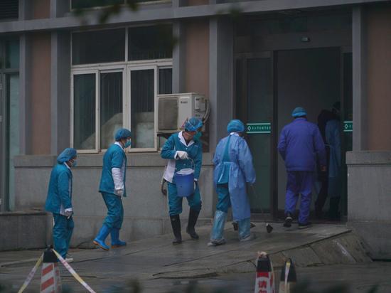 Жертвами коронавируса в китайской провинции Хубэй числятся 125 человек