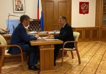 Глава Бурятии встретился с министром науки и высшего образования России