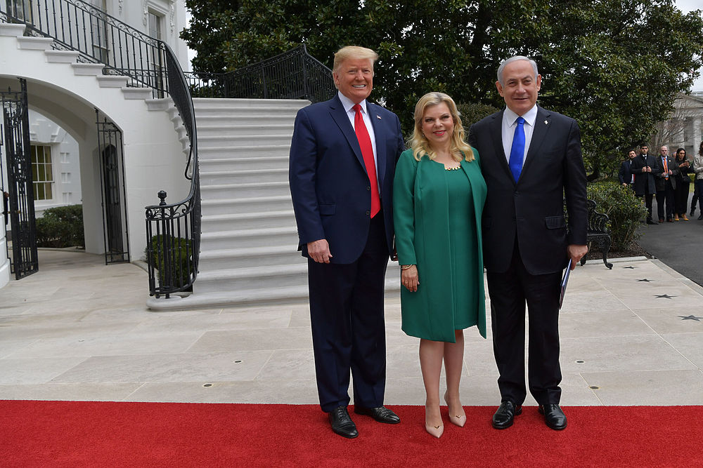 "Президент Трамп презентовал ""Сделку века"" между Израилем и арабами"