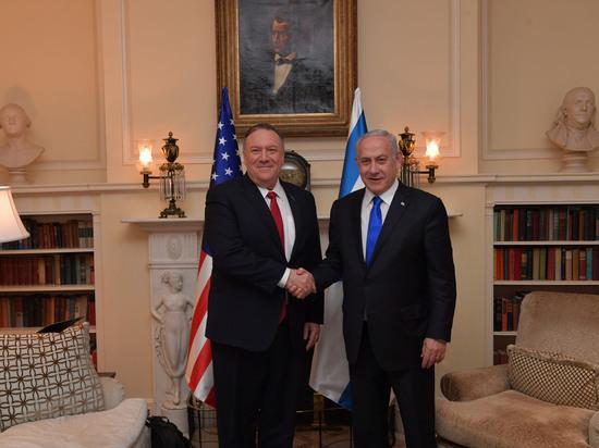 Состоялась встреча премьер-министра Израиля с госсекретарем США