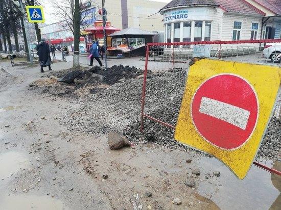 «Янушка» окопалась: как сейчас выглядит одна из главных улиц Пскова