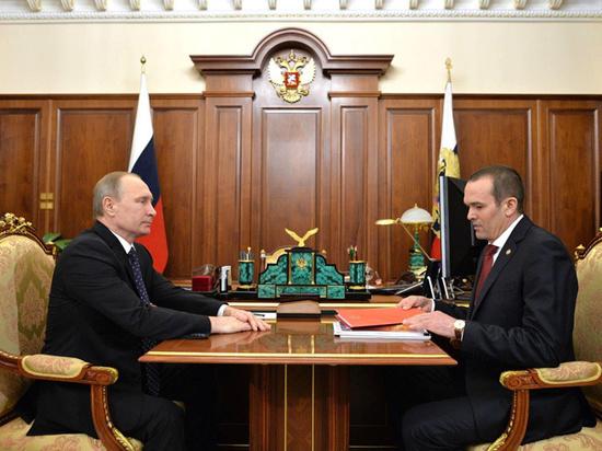 Путин отправил главу Чувашии Игнатьева в отставку