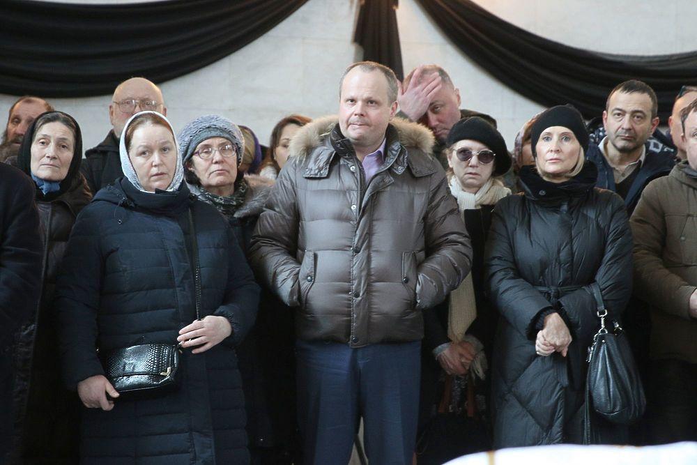 На похоронах Всеволода Чаплина полковник Квачков сказал речь