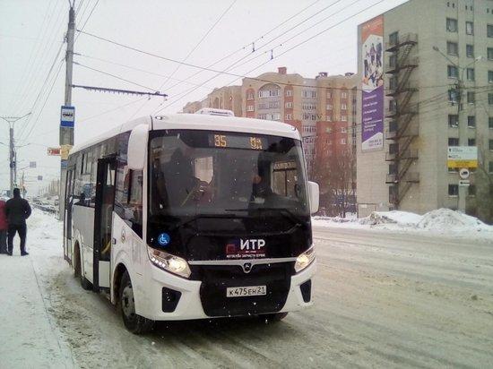 В Чебоксарах скорректировали маршруты автобусов №5, 35 и 41