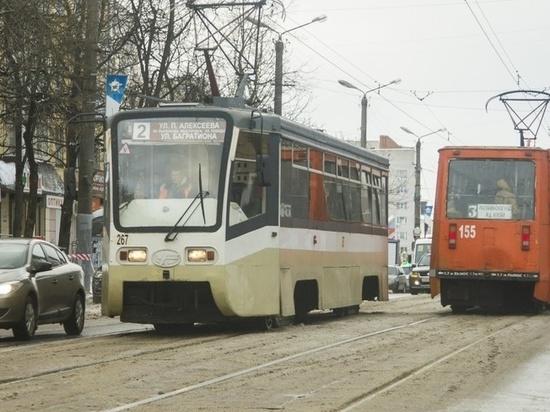 В Смоленске до 30 июля будут ходить трамваи-челноки