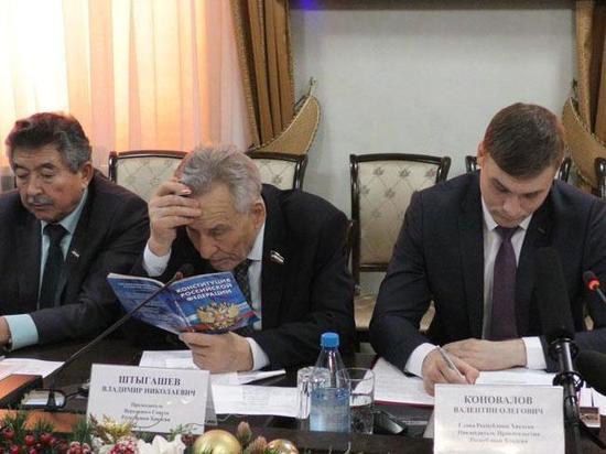 Владимир Штыгашев: наши туземные территории не обустраиваются, в Москве еще тротуары не золотые