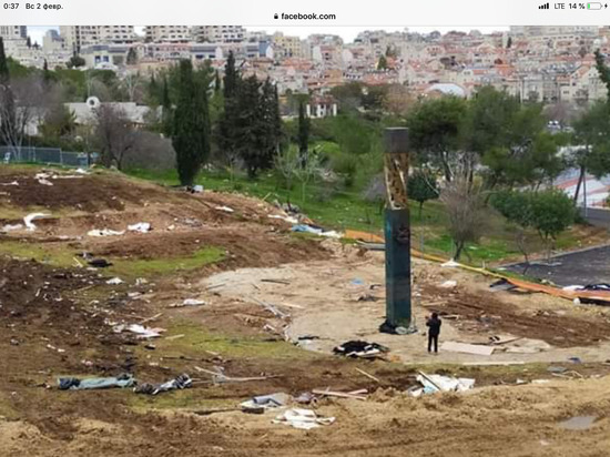 Израильтяне показали странное состояние памятника жертвам блокады Ленинграда
