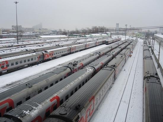 Россия приостановила движение всех пассажирских поездов с КНР