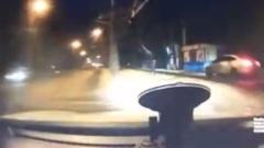 Столкновение машин на Гурьянова в Калуге