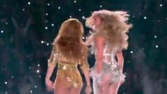Дженнифер Лопес и Шакира взорвали соцсети зажигательным танцем на Супербоуле