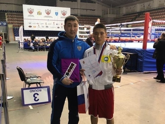 Калмыцкий боксер Эльдар Хараев стал чемпионом престижного турнира
