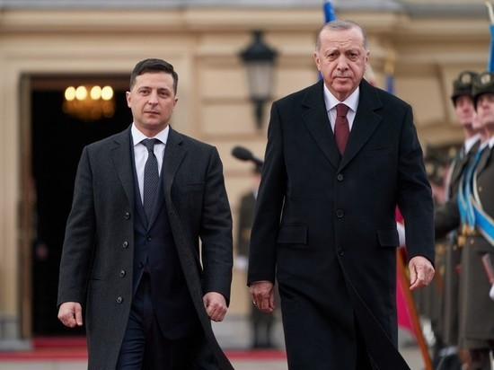 Эрдоган поприветствовал почетный караул в Киеве бандеровским лозунгом