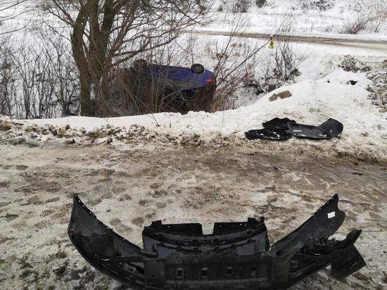 Двое пострадали в ДТП по вине пьяного водителя в Чувашии
