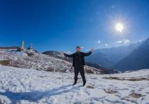 Кадыров показал отдых с семьей в горах Чечни