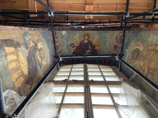 Реставраторы ахнули: в тульском храме найдена уникальная роспись