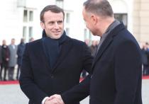 Визит Макрона: Франция перезагрузила отношения с Польшей