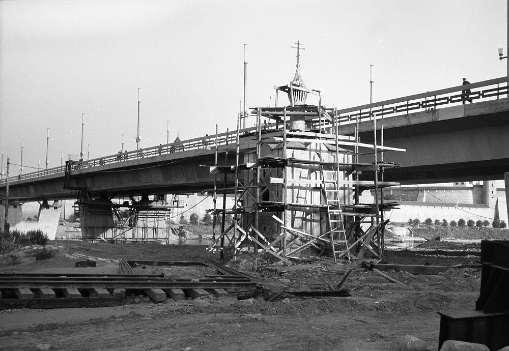 Перенос Анастасьевской часовни в 1970 году