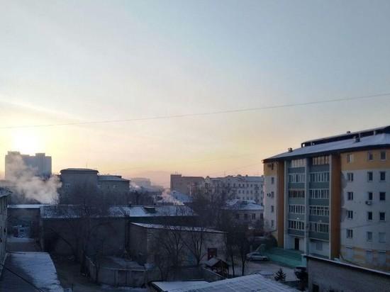 Метеоусловия в Чите 5 февраля способствуют загрязнению воздуха
