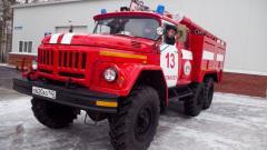 Склад ГСМ горел в Гурьевске