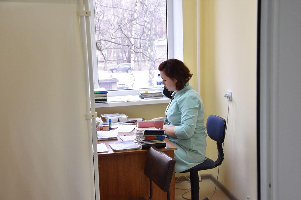 В Рязани за 12 миллионов отремонтировали поликлинику больницы № 10