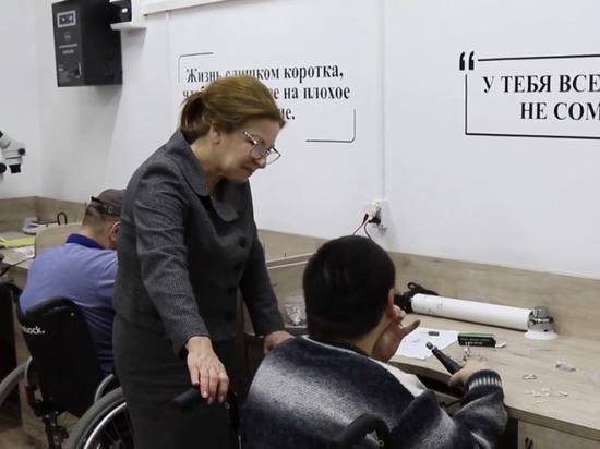 В Дагестане открыли ювелирную мастерскую для инвалидов