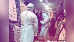 Учения по коронавирусу на рынке в Одессе повеселили граждан