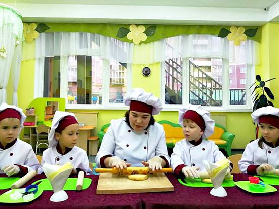 В чебоксарских детских садах работают кулинарные школы