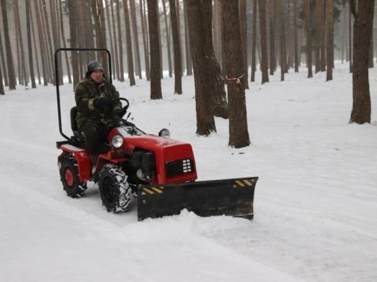 Все – на лыжи: в парке Харинка идет подготовка к проведению «Лыжни России – 2020»
