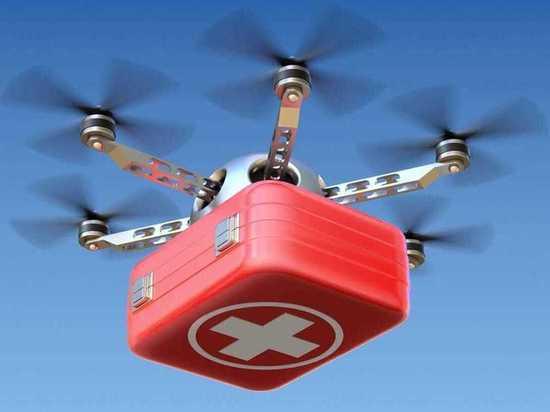 В Германии срочные медицинские грузы доставят дроны