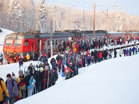 Поезда «Лыжные стрелы» вернулись в расписание с приходом холода и снега