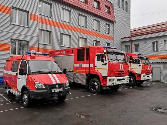 2 пожара и 5 ДТП ликвидировали тульские спасатели за сутки