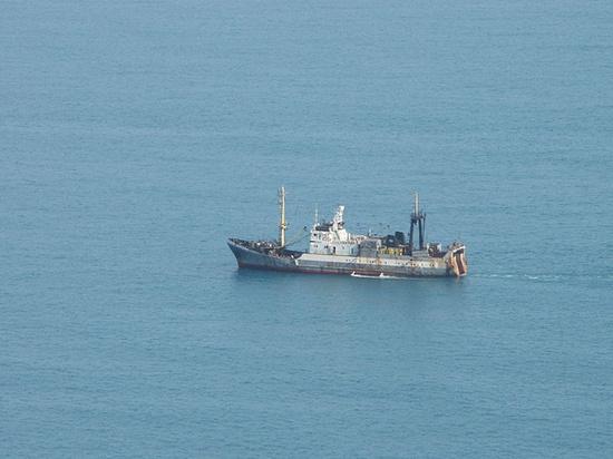 У берегов Эстонии утонуло российское судно