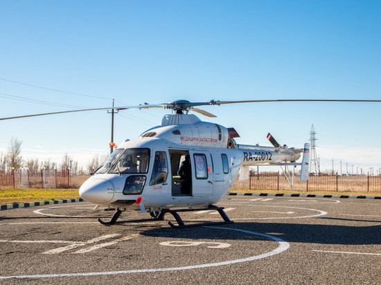 В Чувашии построят пять вертолетных площадок для больниц