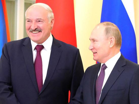 Встреча Путина и Лукашенко началась в горном отеле