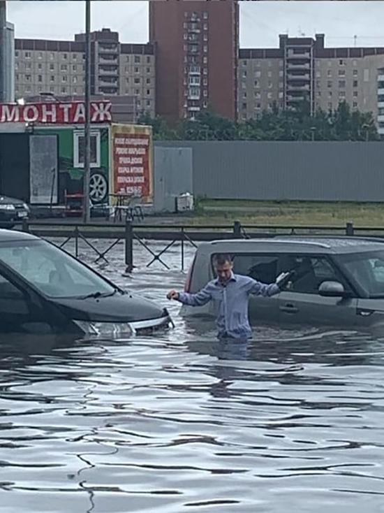 «Водоканал» подсчитал особо подтопляемые участки Петербурга