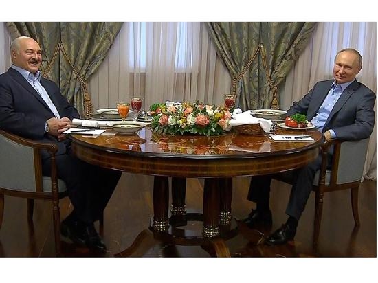 Путин накормил Лукашенко кашей на воде