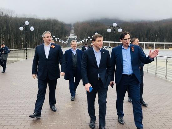 Андрей Турчак посетил Железноводск