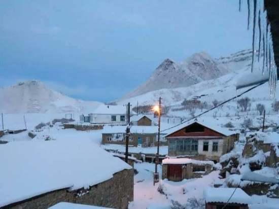 В Дагестан придет зима