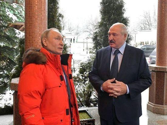 Матч с участием Путина и Лукашенко завершился со счетом 9:2