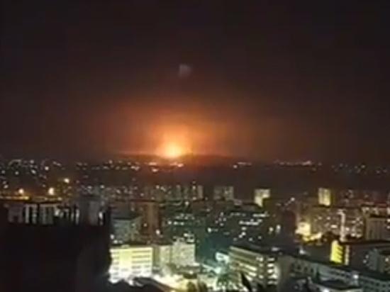 Из восьми выпущенных по Дамаску ракет удалось сбить только четыре