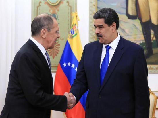 Мадуро заявил о важной роли России в построении нового мира