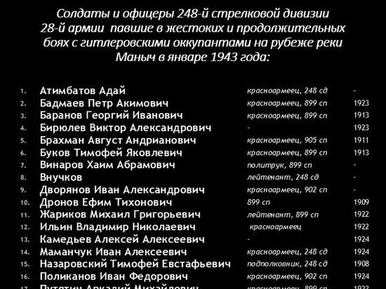 Калмыцкие приставы включились в работу по увековечению памяти героев