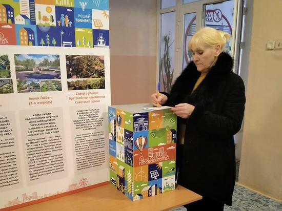 В Железноводске открылись участки рейтингового голосования