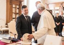 Зеленский заявил, что Папа Римский назвал его «президентом мира»