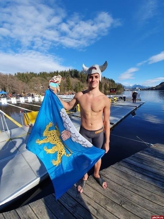 Пскович взял «бронзу» на чемпионате мира по зимнему плаванию